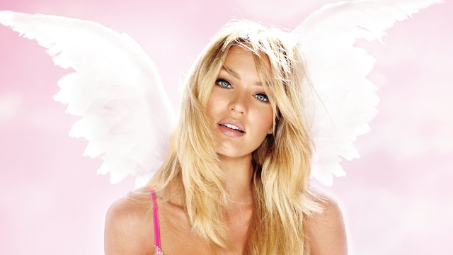 Candice Swanepoel Pink Angel Model