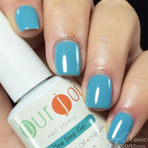 Purjoi One Step Calm Waters Swatch