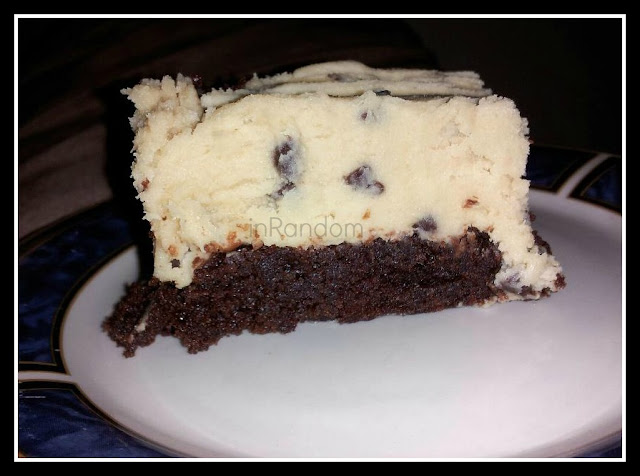 recipe for cookie dough brownies