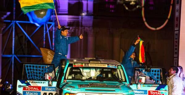 Dakar Por Bolivia - Rally Dakar 2015