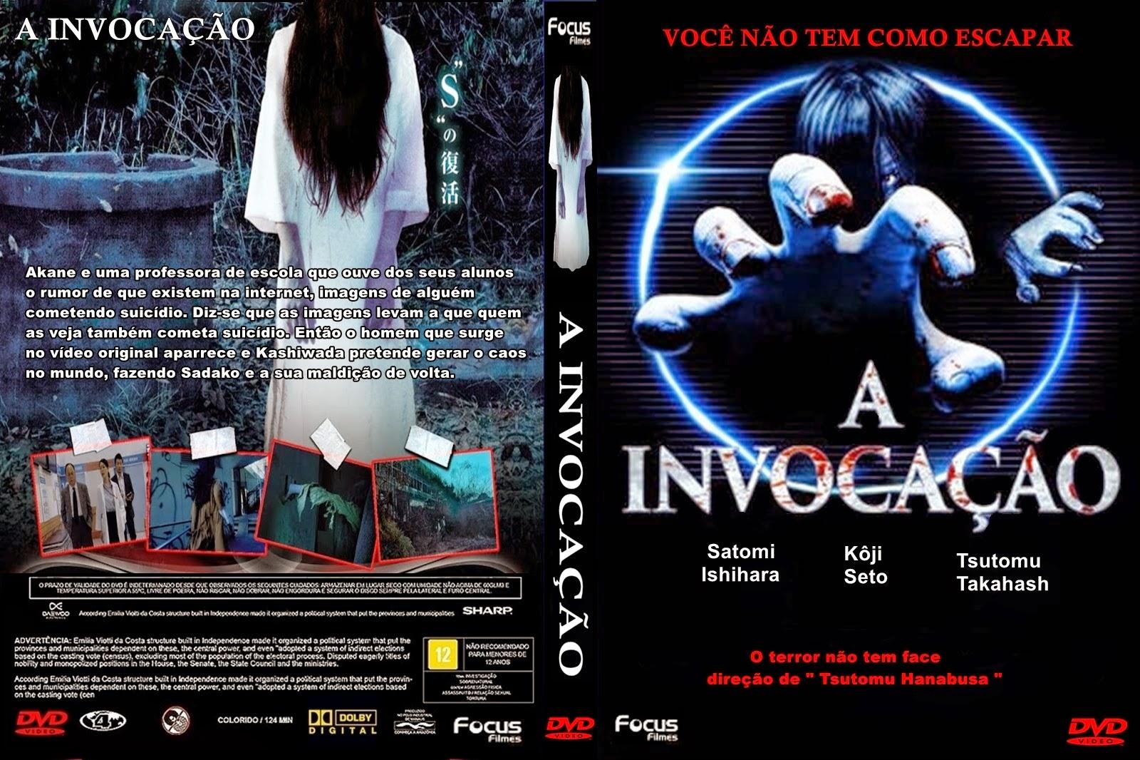 Filme - A Invocação DVD Capa