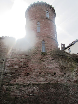 stone tower in Ross on Wye