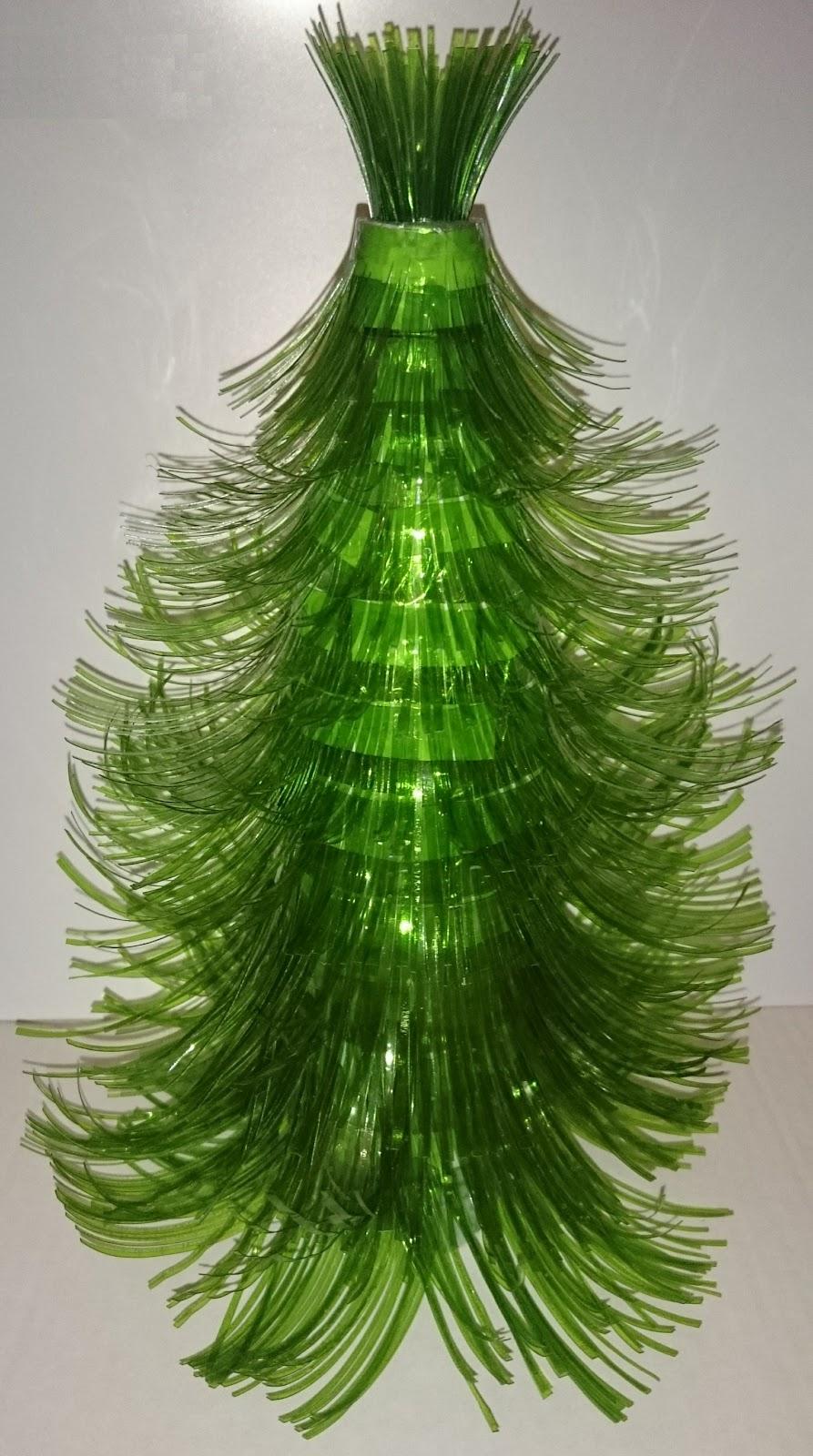 Как из чего сделать елку из пластиковой бутылки 133
