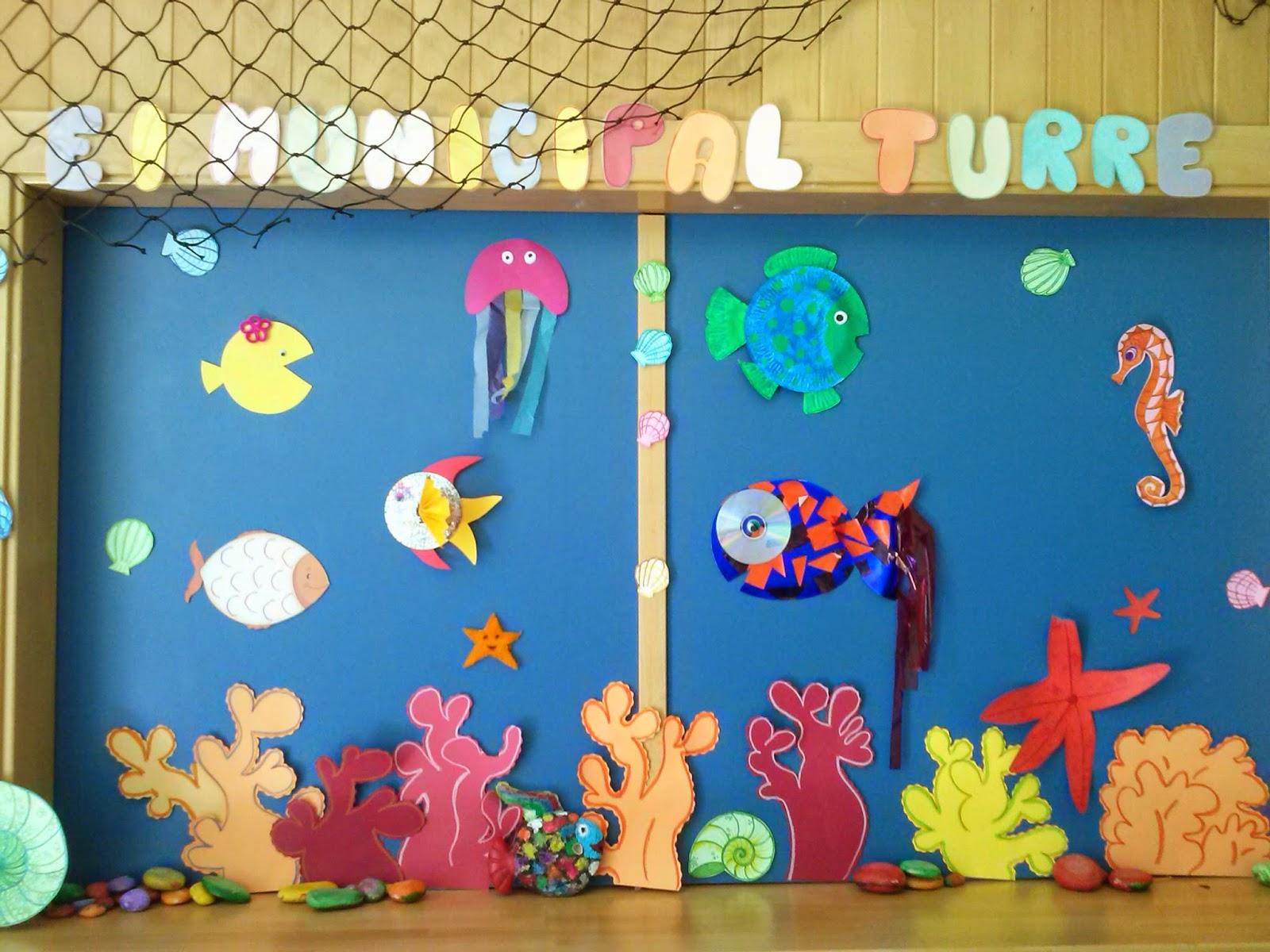 Escuela infantil turre julio 2014 for Decoracion verano para jardin infantil