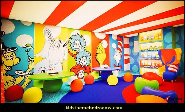 for. Modern House Plans  Dr Seuss theme bedroom decorating ideas   Dr