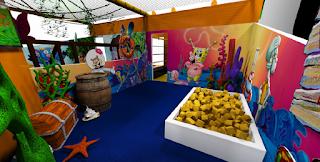 Arena Nickelodeon invade o Américas Shopping