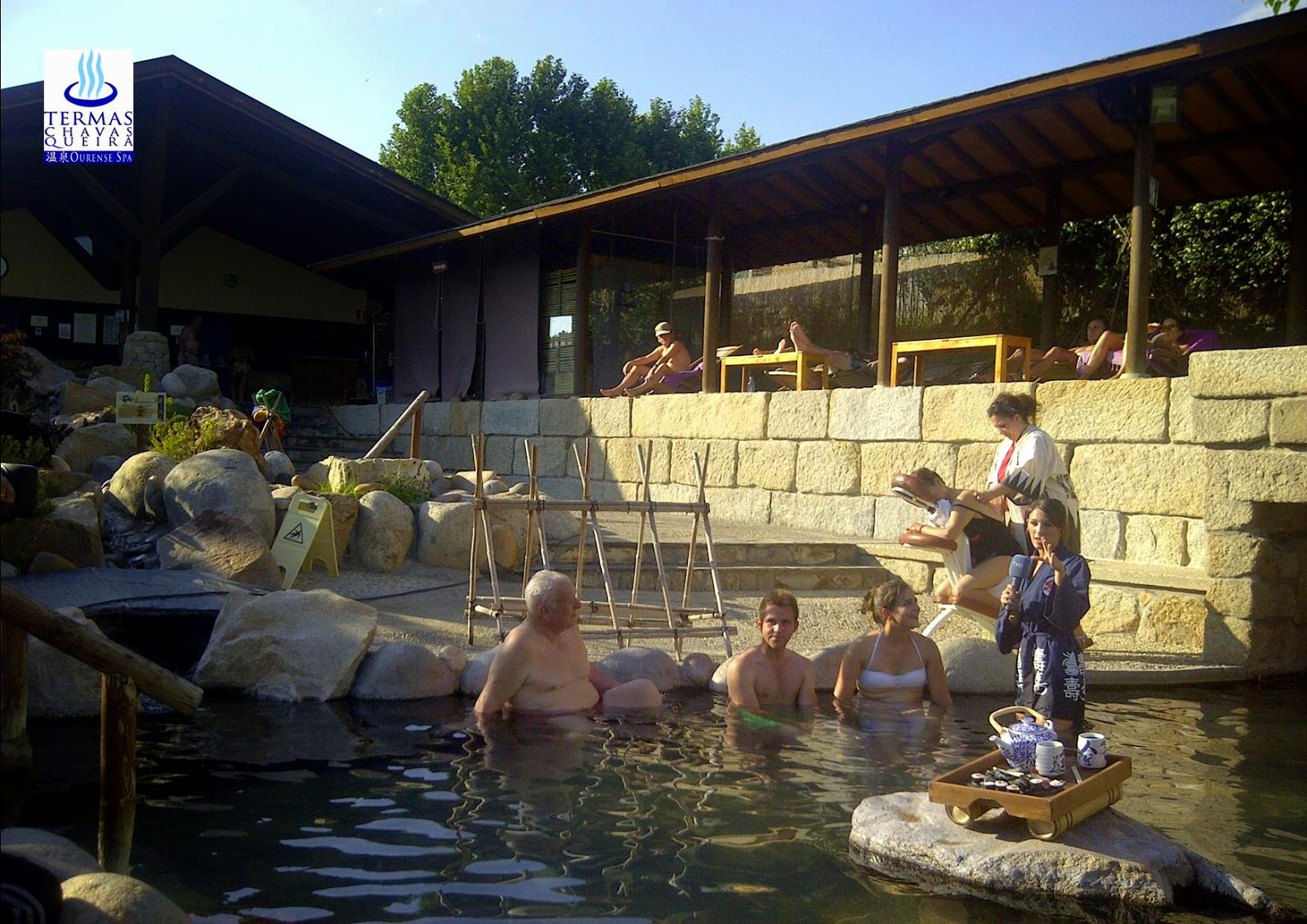 Termas Chavasqueira, España Directo, Spa, Onsen, Ourense