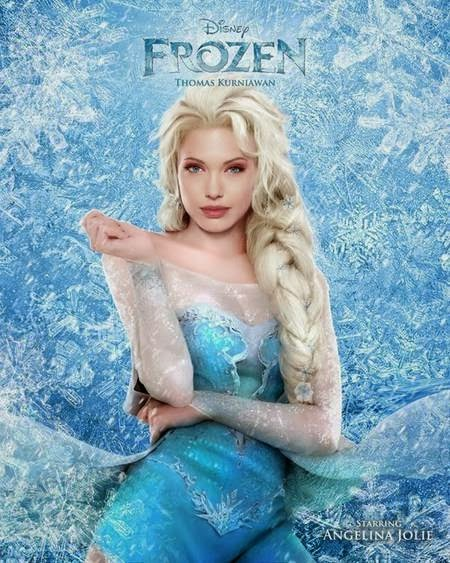 Frozen - Angelina Jollie