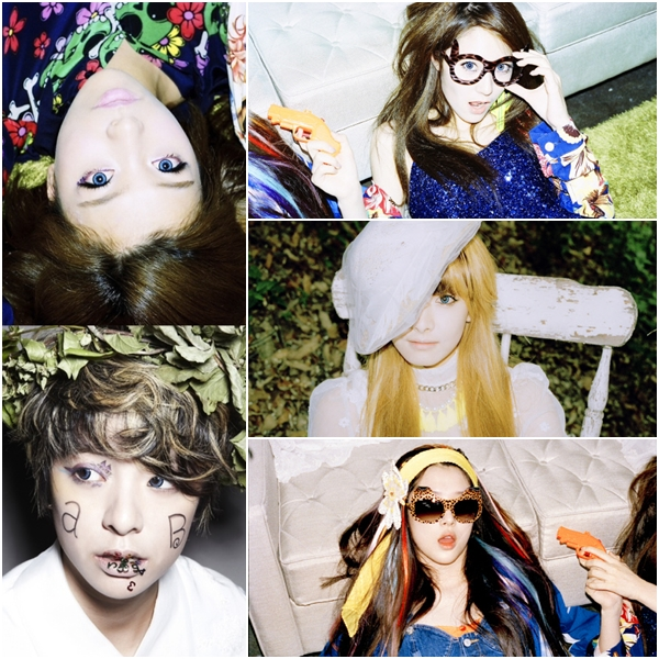Sisters With Seoul: f(x) - Electric Shock F(x) Electric Shock Album Cover