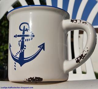 seegler, schiffe kaffeebecher motiv