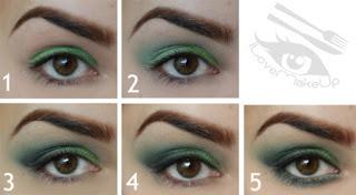 Green Eye Makeup Ideas 2015