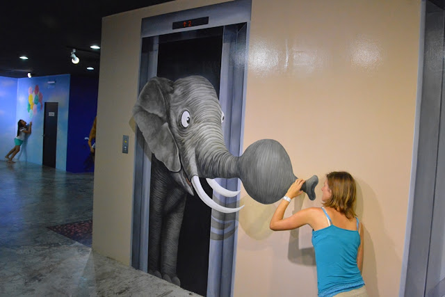 Trick Eye Museum elephant