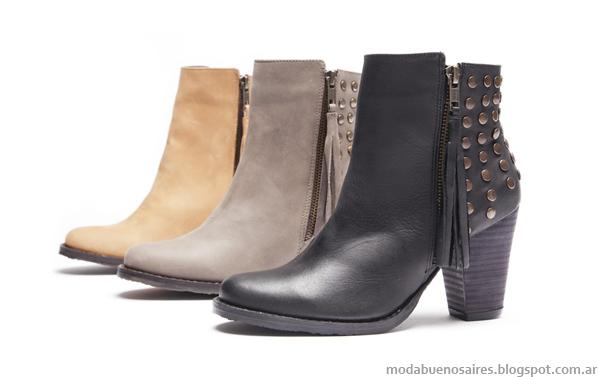 Botas con tachas moda 2013