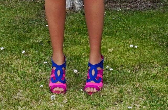 sandalias colores
