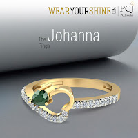 Johanna Diamond Gemstone Ring