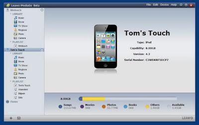 تحميل برنامج Leawo iTransfer لنقل الملفات الي هواتف الايفون والاي باد