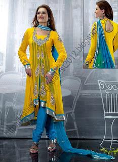 Anarkali-Dresses-2013-14