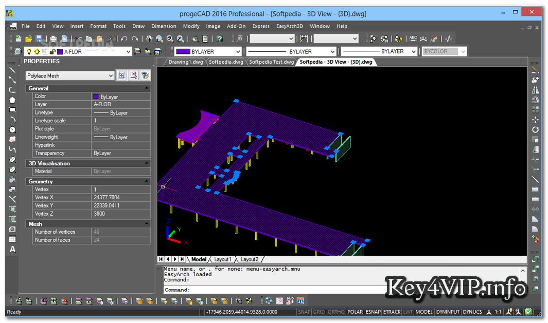 ProgeCAD 2016 Professional v16.0.2.4 Download Full Key,Phần mềm vẽ đồ họa xây dựng 2D và 3D