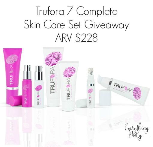 Trufora Skin Care Review and Giveaway