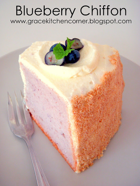 Strawberry Chiffon Cake Recipe Singapore