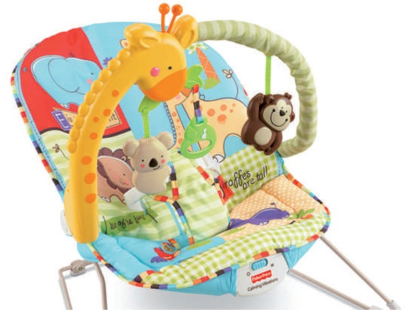 FISHER PRICE BABY BOUNCER CHAIR PLAYTIME BOUNCING SEAT LUV