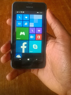 Nokia Lumia 530 is comfortable to hold