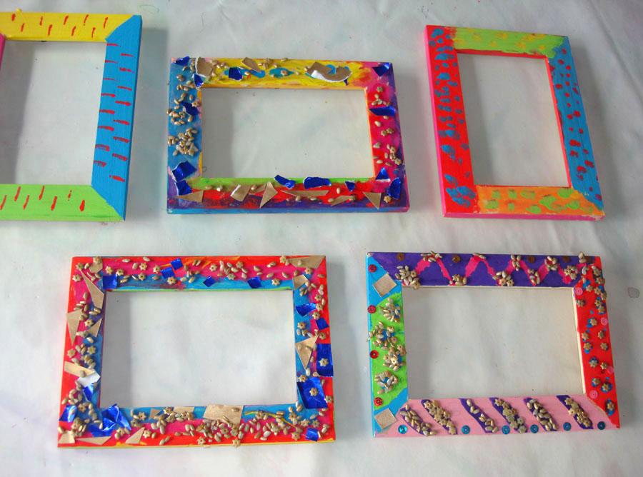 Creatik marco de fotos decorado - Marcos decorados ...