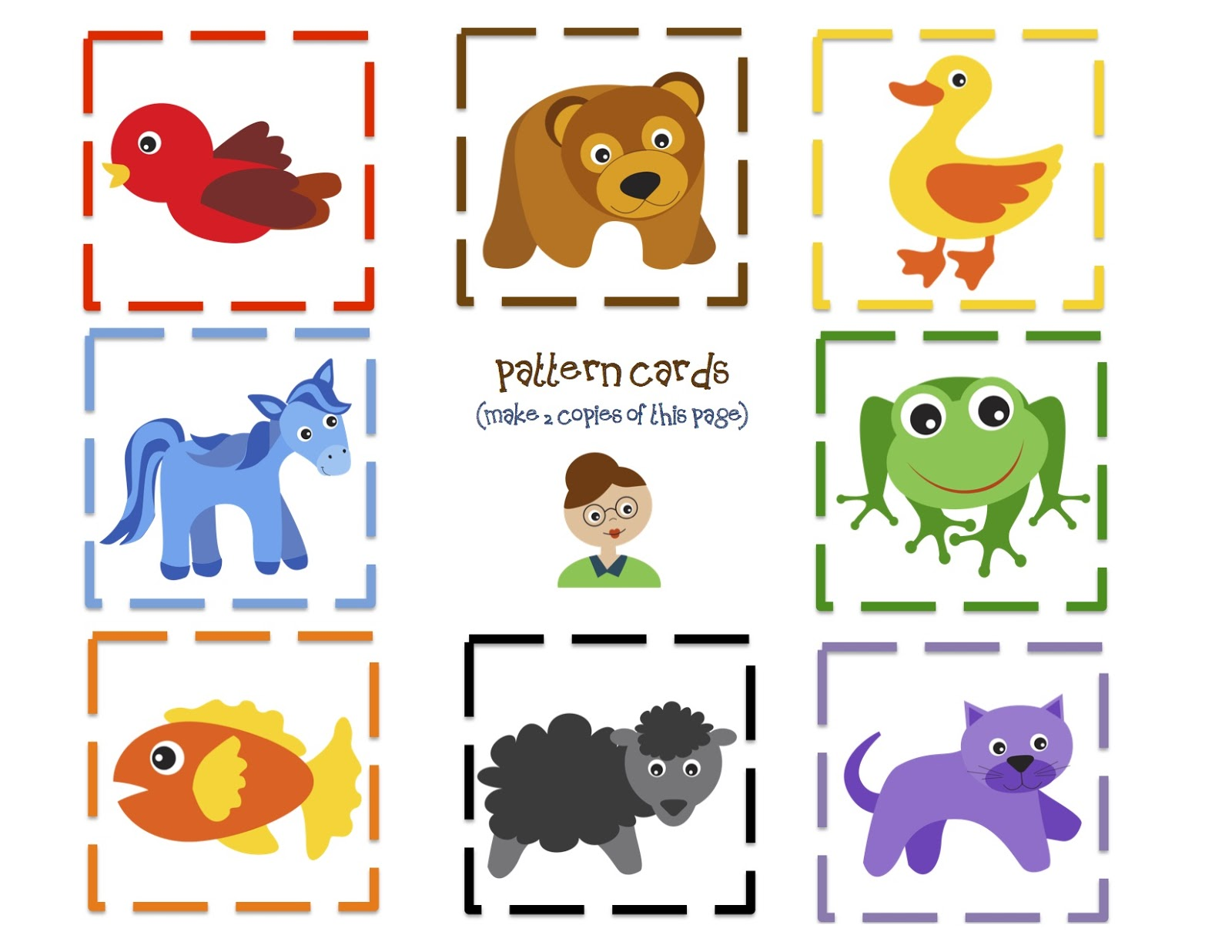 Brown Bear Printable Puppets | Search Results | Calendar 2015