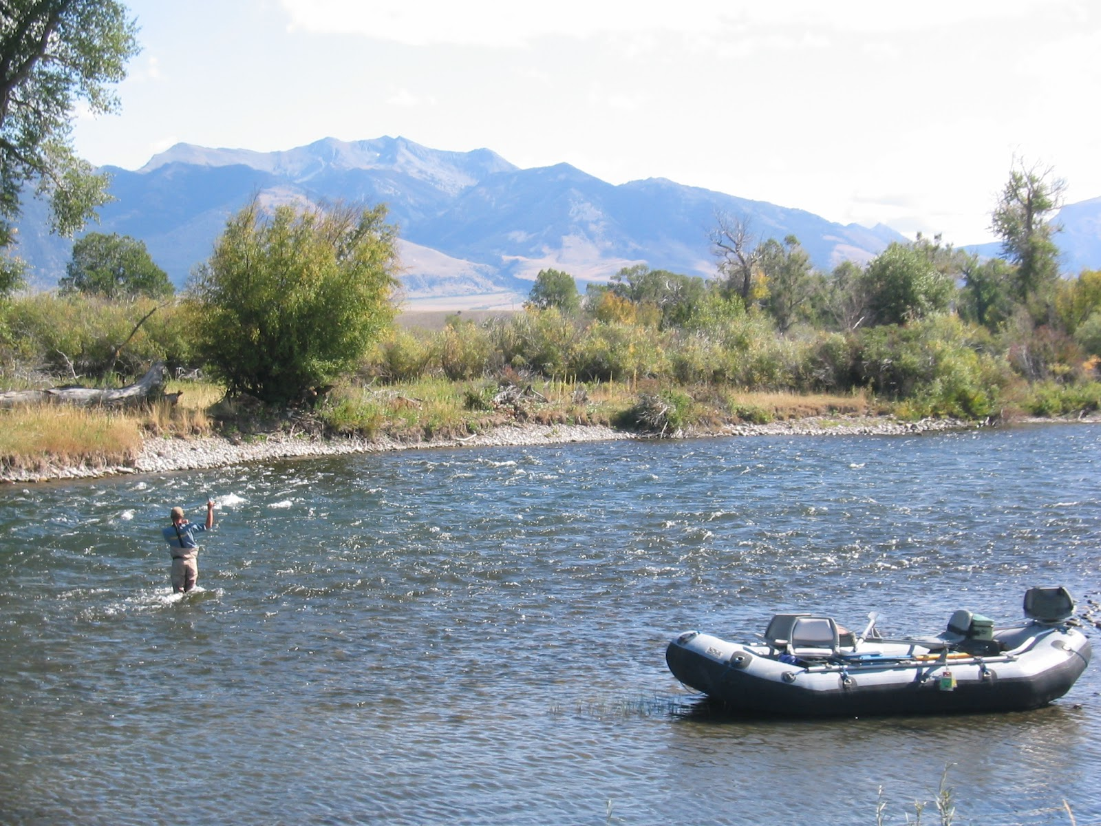D h fly fishing trips to montana delamere hopkins for Montana fishing trips