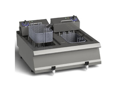 Countertop Gas And Electric Deep Fryer