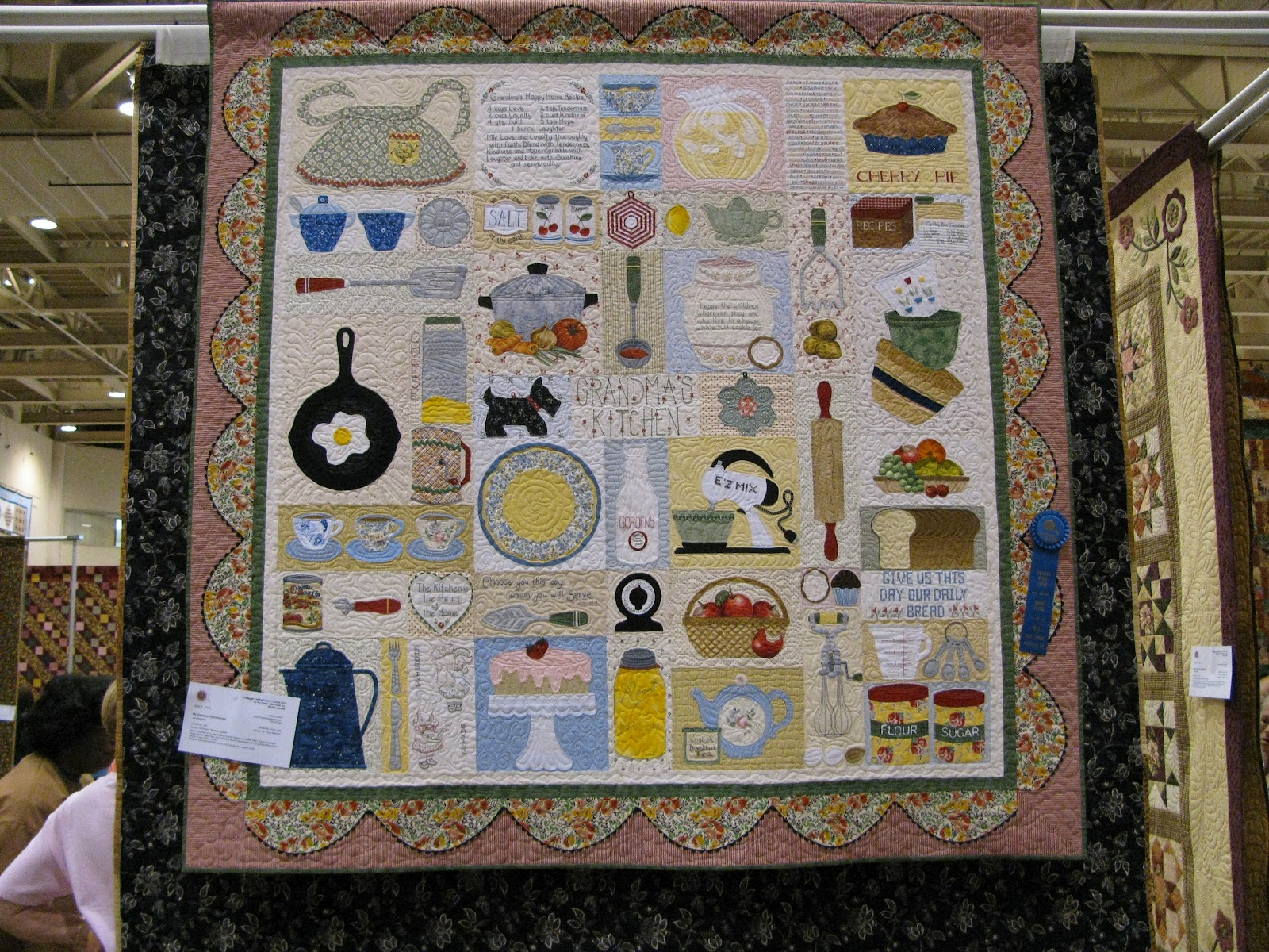 Kitchen Quilting Ideas : The Secret Life of Mrs. Meatloaf: Common Threads Quilt Show, Part 3