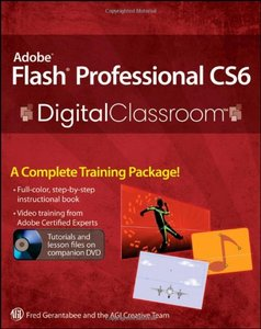 Download Buku Full-color dan paket video Belajar Flash CS 6
