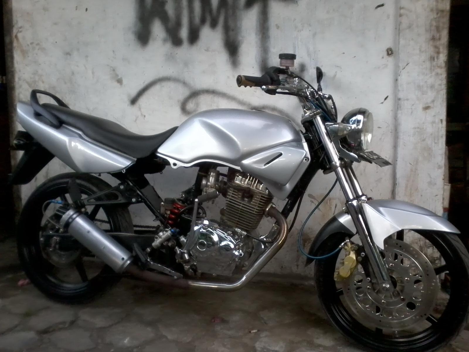 gambar modifikasi motor honda tiger terbaru 2014