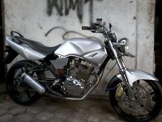 Foto Modifikasi Motor Honda Tiger Terbaru title=