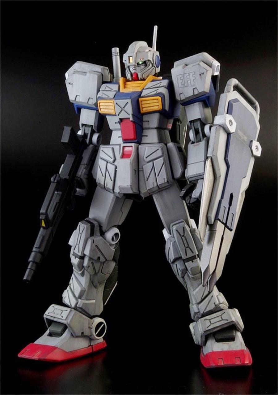 Custom Build: 1/144 Land Battle Type GM Striker