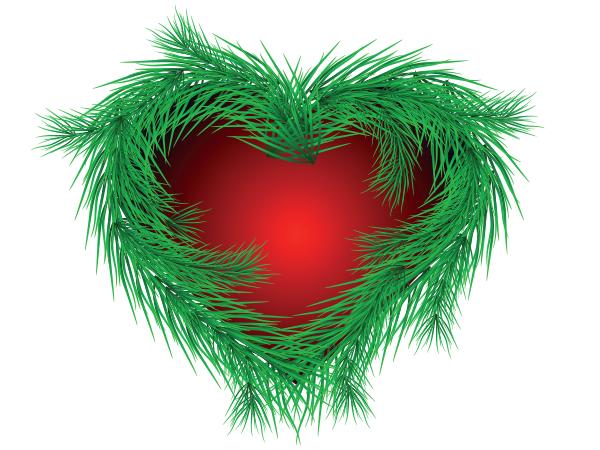 Evergreen Heart Symbols Emoticons