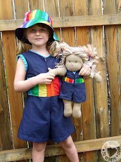 Rainbow Romper
