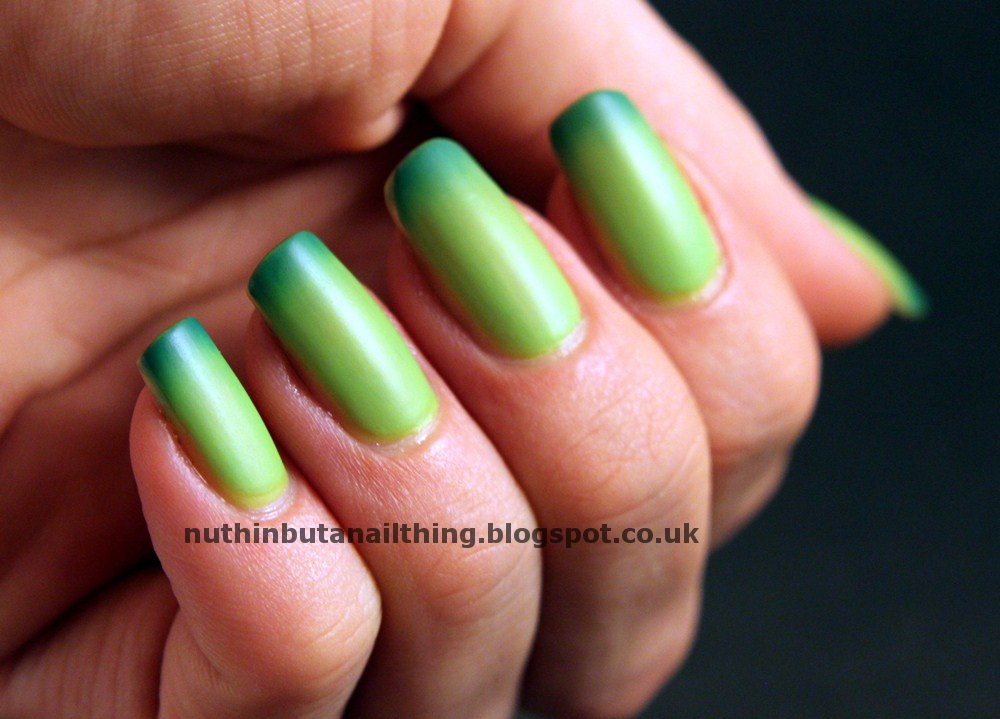 nuthin\' but a nail thing: Island Girl - Colour Change Polish