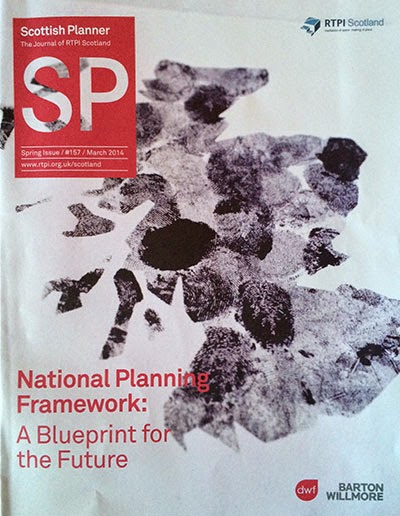The latest edition of the Scottish Planner - now part of the Barton Willmore stable