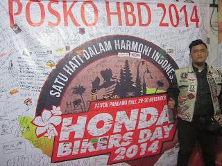Honda Bikers Day 2015 on BERANDA BIKERS
