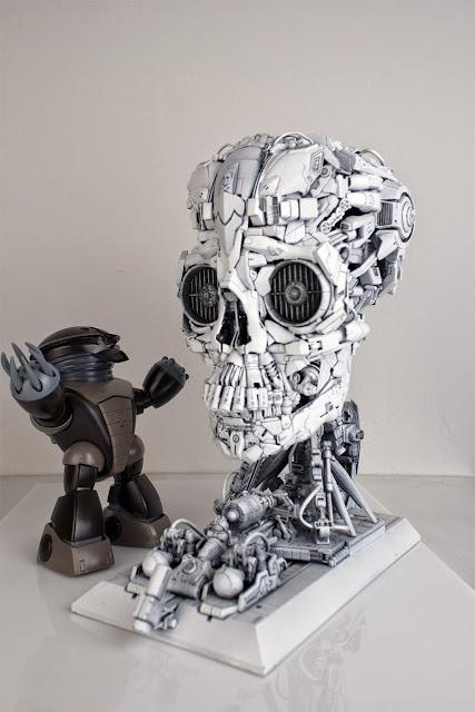 gundam model kits skull