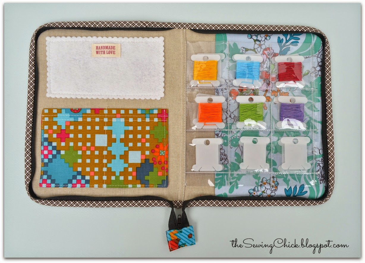 embroidery kit handmade by the sewing chick