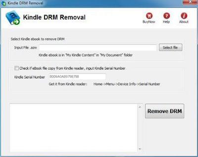 Kindle DRM Removal