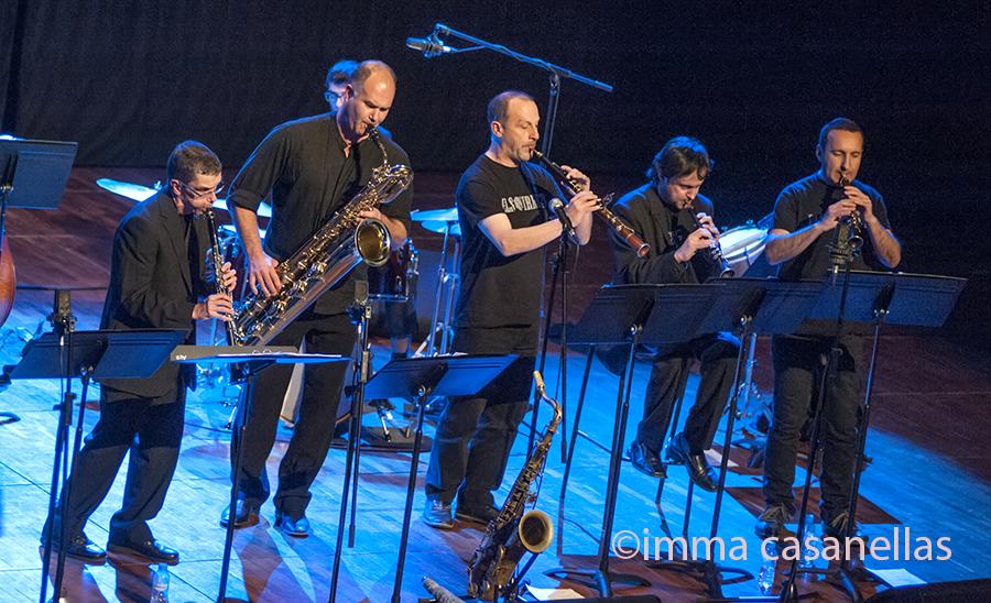 Els Vernets amb Pau Casares i el convidat David Miret, Auditori de Vilafranca, 18-1-2015