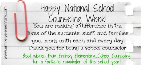 National School Counseling Week is here, once again! I have to admit ...