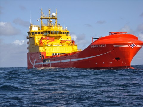 A Viking Offshore vessel