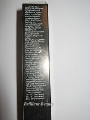 Ingrediente BB cream No7