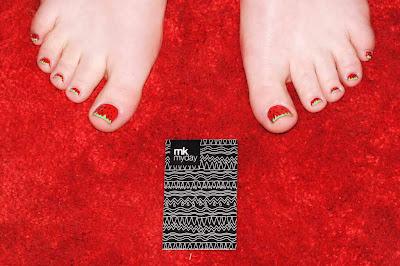 nailart füße