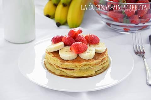 Pancakes (frittelle dolci americane)