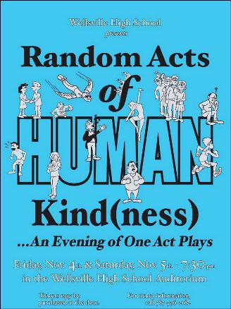 11-4 Random Acts Of Human Kind(ness)